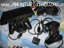 vand Sony playstation 2 cu 2 manete si 2 jocuri originale