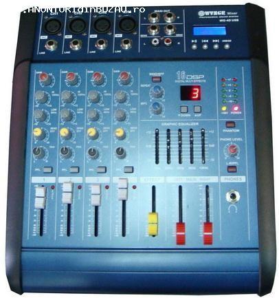 vand mixer cu amplificare