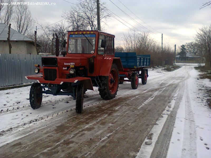 vind tractor 650 cu remorca