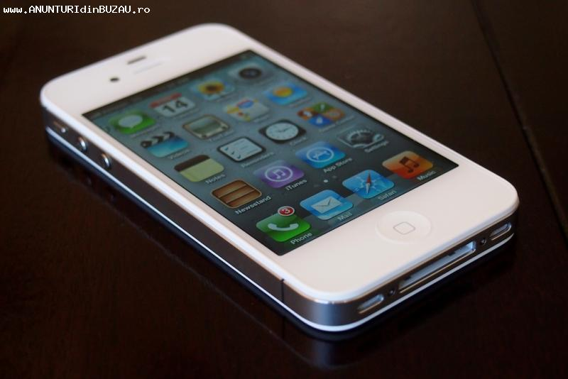 vand iphone 4s alb de 16 gb