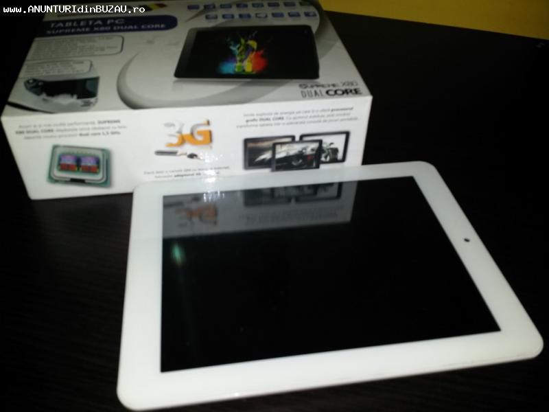 """Tableta E-BODA Supreme X80 Dual-Core  8""""inchi 1GB RAM HDMI W"""