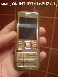 vand telefon nokia 6300 gold