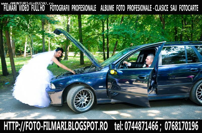 ~ FILMARI HD CAMERAMAN+FOTOGRAF+DJ NUNTA BOTEZ BUZAU 2014