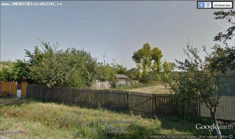 Particular, vand teren casa Scurtesti, Buzau