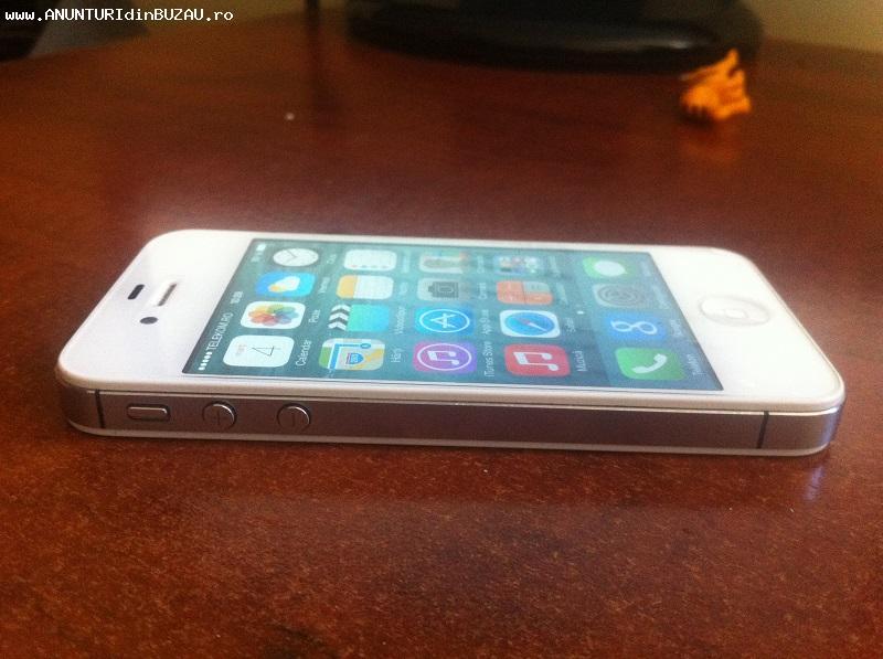 Vand Iphone 4s 64Gb alb neverlocked IOS 8.1