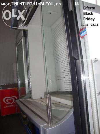 Oferta Black Friday  -Vitrina frigorifica raft perdea de aer