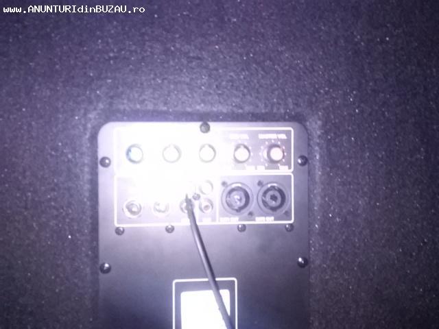 Vand boxe Dibeisi 150w,subwoofer activ Ibiza Sound,garantie