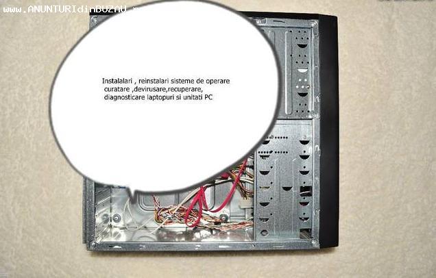 Instalari sisteme de operare pentru laptopuri si PC