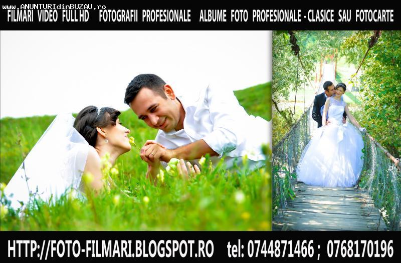 SERVICII SONORIZARE FILMARE -FULL HD-FOTO NUNTA BOTEZ BUZAU