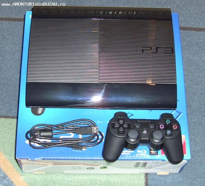 Vand PS3 SUPERSLIM la cutie + garantie.