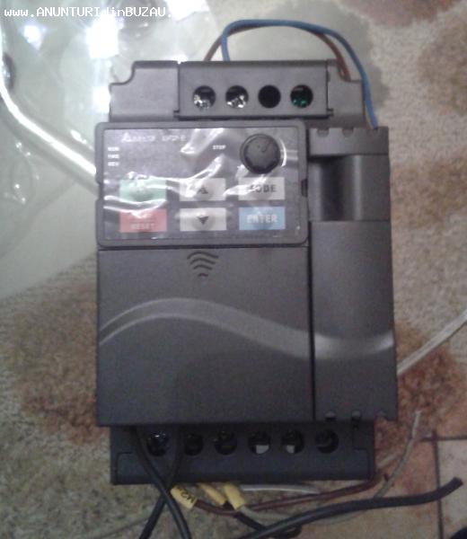 Inverter / Convertizor de Frecventa 1.5Kw Monofazat Delta VF