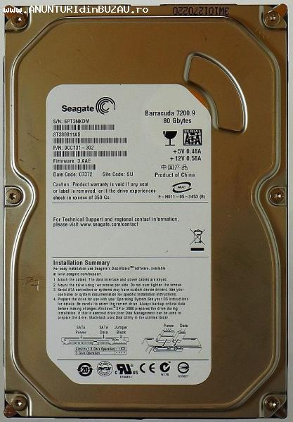 vand hard disk seagate