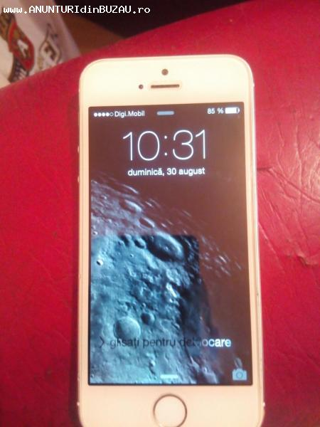 Iphone 5s 16g white impecabil