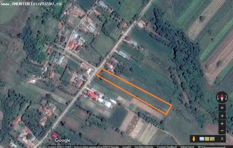 Vand teren casa intravilan Vadu-Pasii/Buzau/Scurtesti