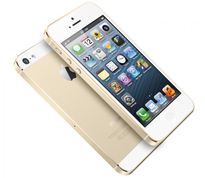 Vand iphone5s gold