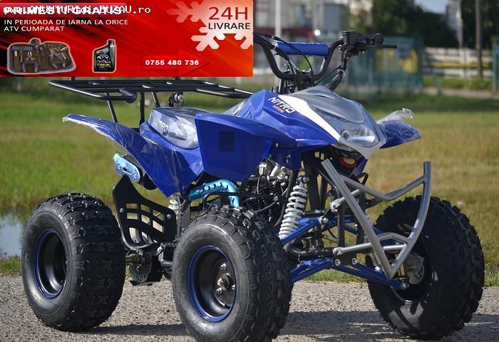 Modele Noi:ATV Racing Quad 125cc Oferta de Sarbatori