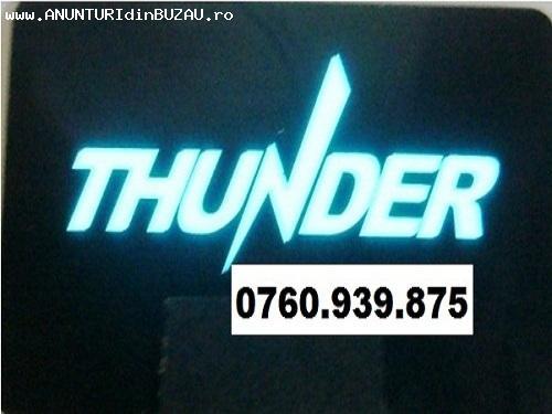 Vand ieftin LED ELECTROLUMINISCENT THUNDER - alarma auto Thu
