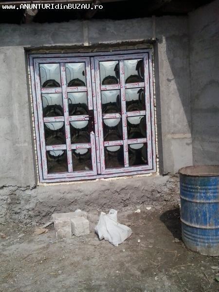 Tamplarie pvc cu geam termopan la preturi de sezon.