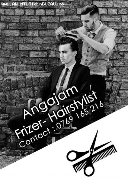 Angajez frizer - hairstylist