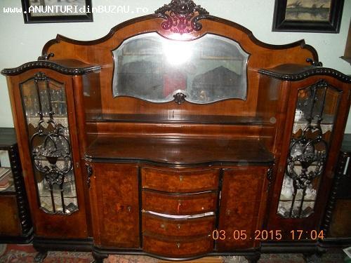 Ieftin mobila sufragerie de Arad stil Chippendale - anii 190
