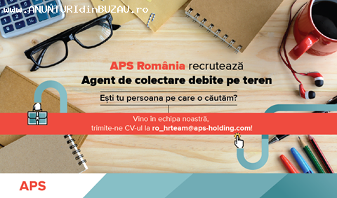 Angajez Agent colectare teren (part-time)