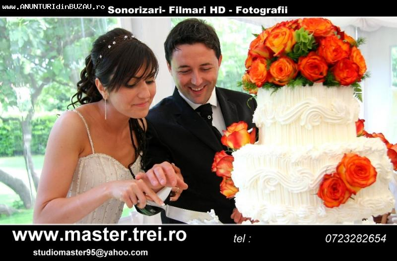 Foto Filmare DRONA DJ Fum Greu nunta botez Buzau