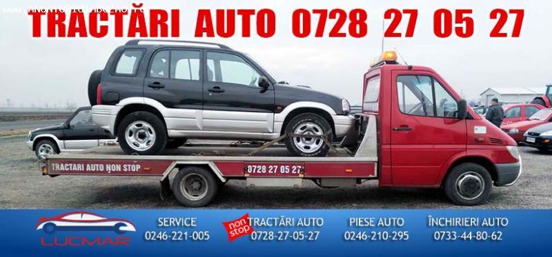 Tractări auto | LUCMAR Service Giurgiu | Servicii auto profe