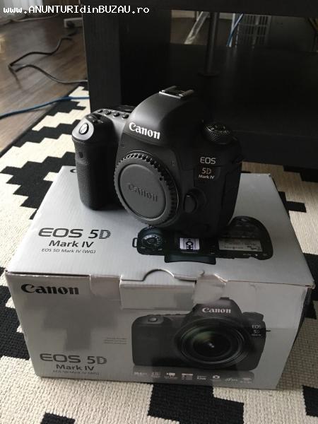 Aparat foto NOU Canon EOS 5D Mark IV 30.4MP Digital SLR: Num