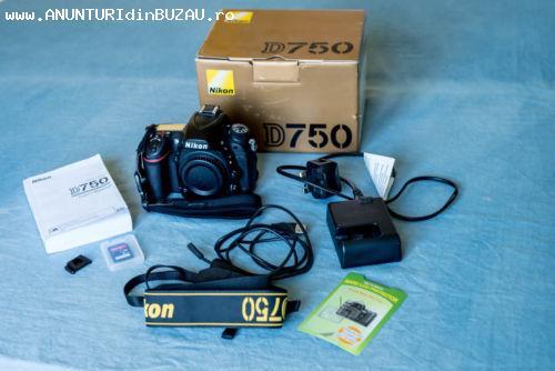 Nikon D750 Digital SLR Camera Body 24.3MP FX-format