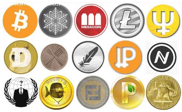 BitCoin, LiteCoin, DarkCoin, DogeCoin, DigitalCoin