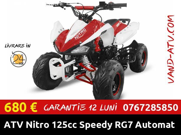 "ATV Nitro 125cc Speedy RG7 ""Automat + Marsarier"