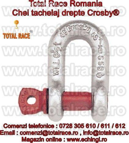 Chei tachelaj , echipamente de ridicat Crosby Total Race