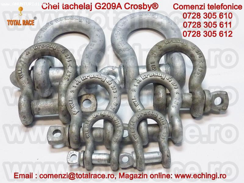 Chei tachelaj G209A, echipamente de ridicat Crosby