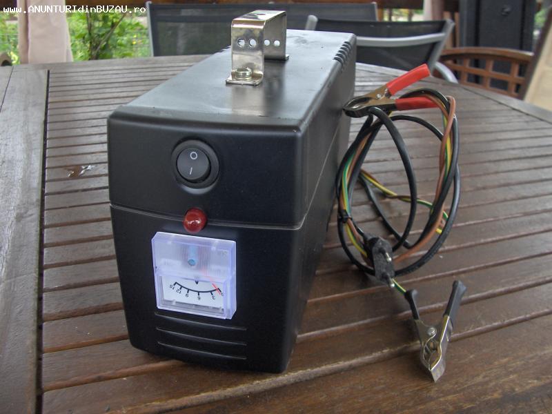 redresor auto, filtrat si ventilat electric