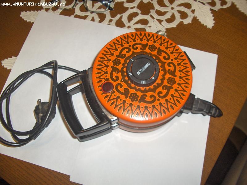 aparat electric de facut saratele