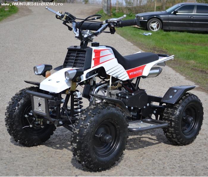 ATV 49cc NITRO Banshee 502T Roti 6 Pornire Buton
