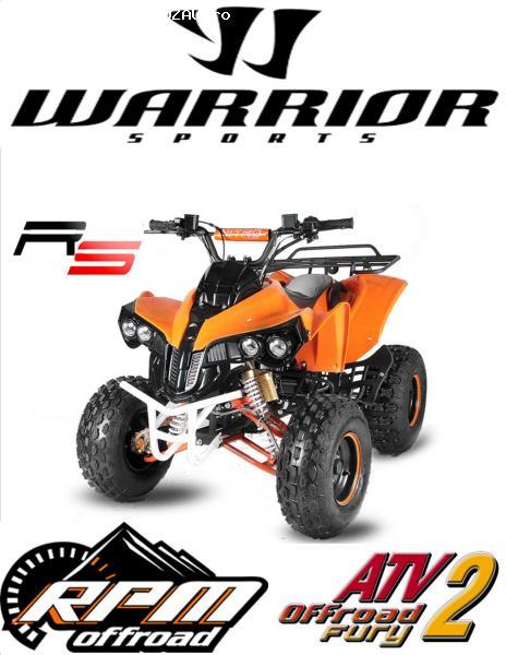 ATV WARRIOR XL R-S8'' AUTOMATIK+RG