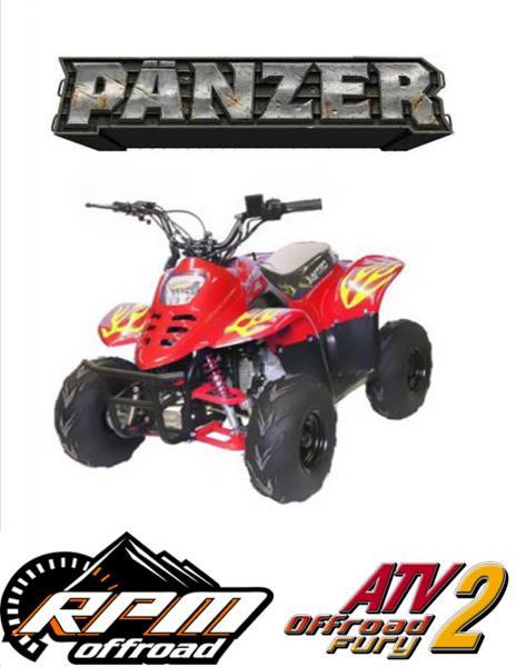 ATV PANZERX  RG6''X MINI KINDERQUAD