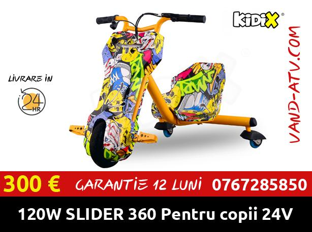 Tricicleta Electrica SLIDER 360 For Kids 120W