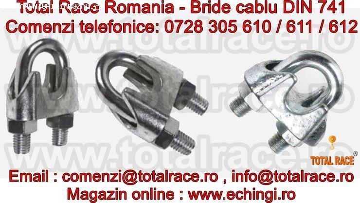 Brida metalica de strangere cablu