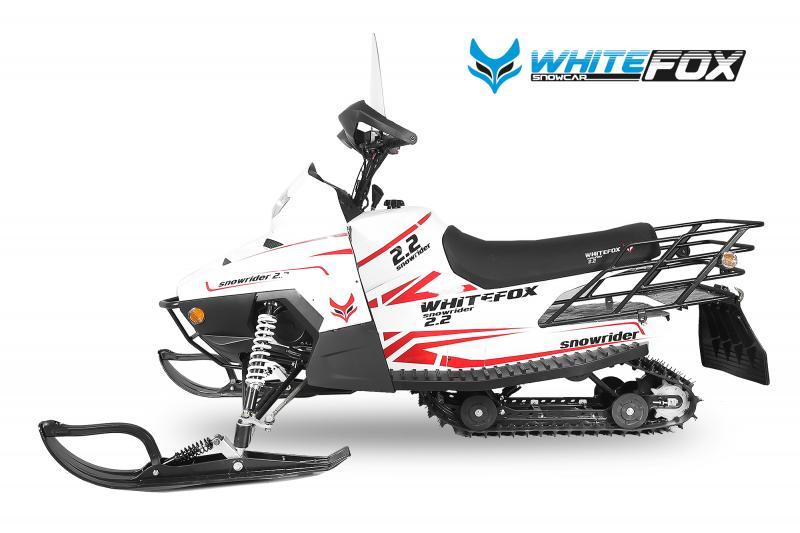 SnowMobile Whitefox Model Snowrider 2.2
