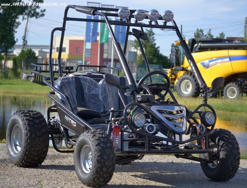ATV NITRO 200cc Buggy – 2 Persoane, Import germania