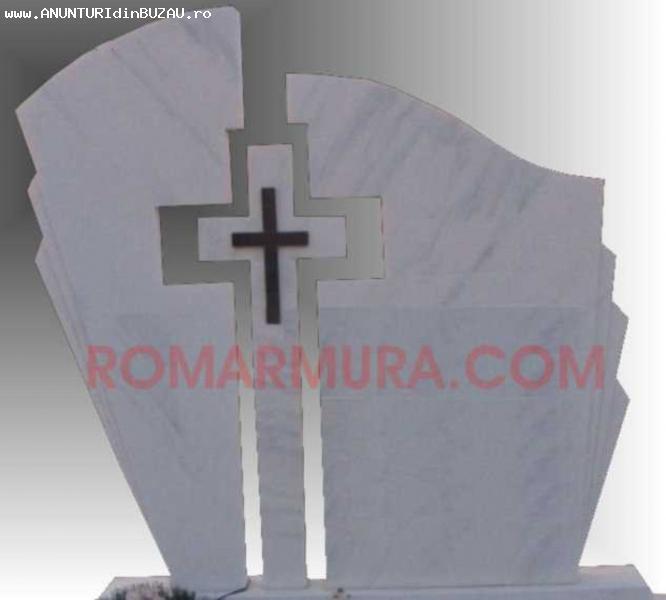 Cruci, monumente funerare calitate, peste 500 modele
