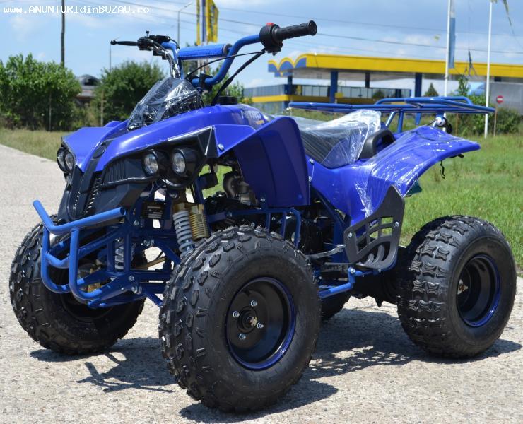 ATV 125cc NITRO Warrior Semiautomatik, Import Germania