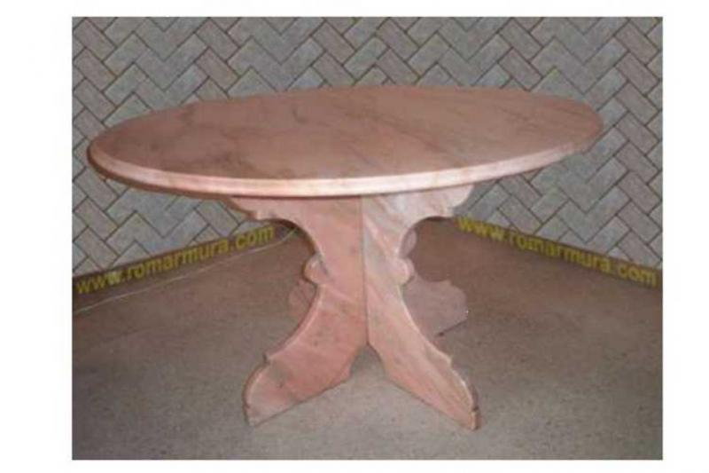 Masa din marmura eleganta, calitate deosebita