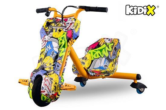 Tricicleta Electrica 120W SLIDER 360 Pentru copii Nou 2018