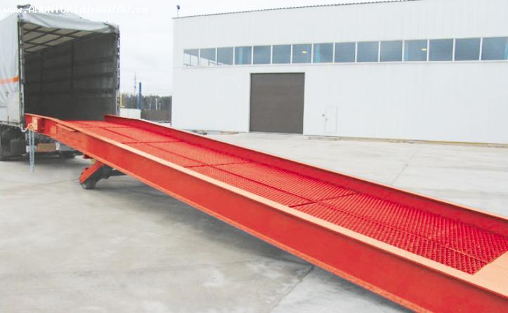 Rampa mobila de incarcare / descarcare - 6 tone, 9 m