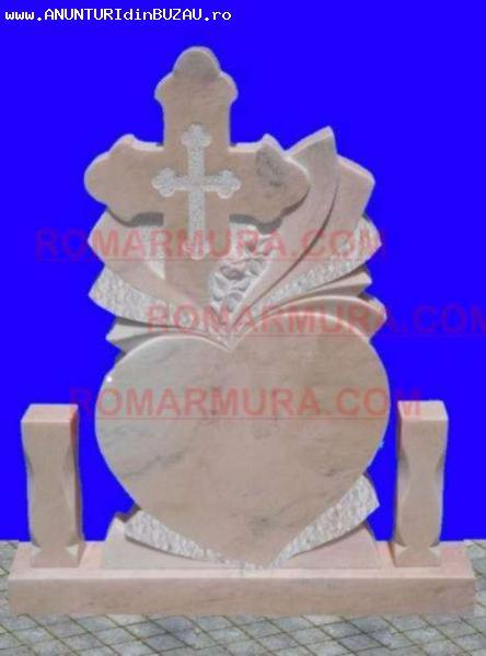 Monument funerar din marmura sau piatra
