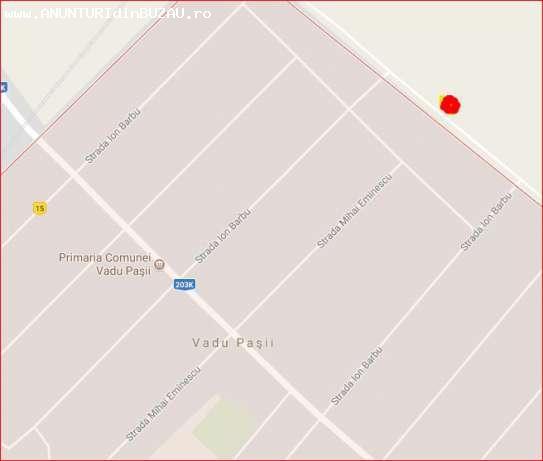 teren Vadu Pasii -8 eur/mp
