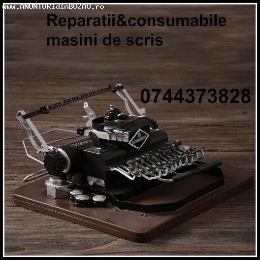 Consumabile si reparatii masini de scris, mecanice